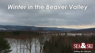 Winter in the Beaver Valley Drone Video