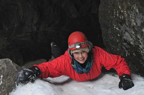 Winter Cave Exploration