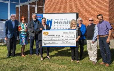 Golf Tournament Raises Over $28,000 for Centre Grey Health Services Foundation