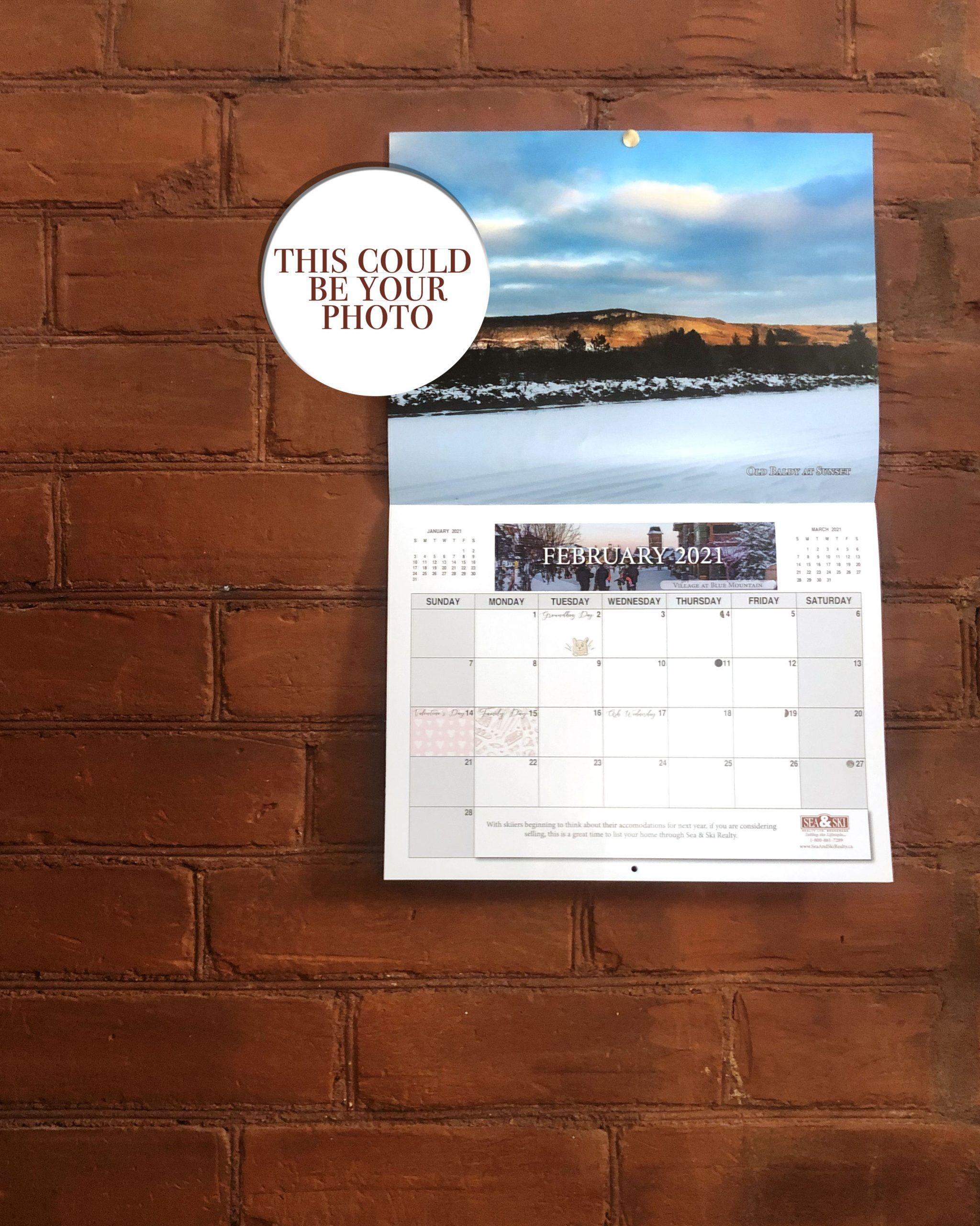 calendar contest